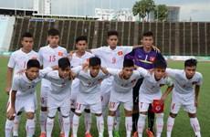 U16 Việt Nam giành chiến thắng đậm trước đội U16 Singapore