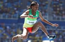 Nỗ lực tuyệt vời của VĐV Ethiopia chạy với 1 chân không giày