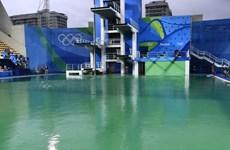 Sốc: Bể bơi phục vụ thi đấu Olympic bị đổ nhầm dung dịch hóa học