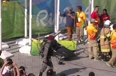 Rơi máy quay khổng lồ tại Olympic Rio, 7 người bị thương