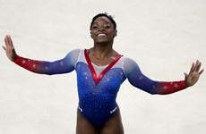 """""""Siêu nhân tí hon"""" Simone Biles giành HCV thứ 4 ở Olympic Rio"""