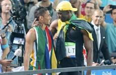 """""""Tia chớp"""" Usain Bolt thách đấu kỷ lục gia thế giới cự ly 400m"""