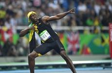 "Olympic: Usain Bolt, ""Tia chớp"" trên bầu trời Rio de Janero"