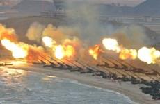 Hàn Quốc tập trận pháo binh quy mô lớn gần biên giới liên Triều