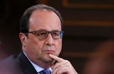 Tổng thống Pháp Hollande chủ trì cuộc họp của hội đồng an ninh
