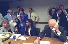 Những bức ảnh chưa công bố từ Nhà Trắng sau vụ khủng bố 11/9