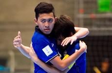 Futsal: Thái Lan ngược dòng ngoạn mục, Nga giành vé vòng 1/8