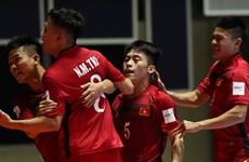 Đội tuyển Futsal Việt Nam cần điều kiện gì để vào vòng 1/8?