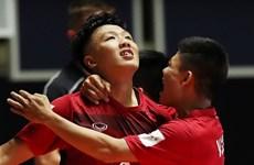 Đội tuyển Futsal Việt Nam lập kỳ tích lần đầu vào vòng 1/8