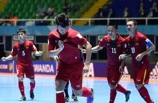 FIFA Futsal World Cup: Xác định xong 8 cặp đấu ở vòng 1/8