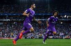Kết quả: M.U, Juventus thua sốc, Real Madrid độc chiếm ngôi đầu