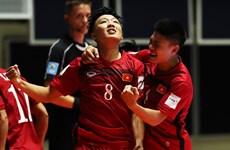 Lịch trực tiếp: Việt Nam đối đầu Nga ở vòng 1/8 Futsal World Cup