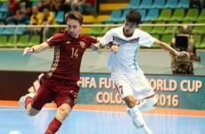 Đội tuyển Việt Nam ngẩng cao đầu chia tay FIFA Futsal World Cup