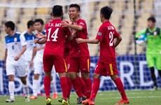 Hạ U16 Kyrgyzstan, U16 Việt Nam thẳng tiến tứ kết U16 châu Á