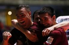 Vùi dập Tây Ban Nha, đội tuyển Futsal Nga đối đầu Iran ở bán kết