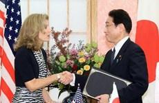 Nhật Bản và Mỹ ký thỏa thuận thúc đẩy mở rộng hợp tác hậu cần