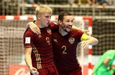 Futsal Nga lần đầu vào chung kết sau màn rượt đuổi hấp dẫn