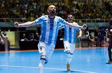 Vùi dập Bồ Đào Nha, Futsal Argentina đại chiến Nga ở chung kết