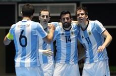 Cận cảnh Argentina đánh bại Nga để đăng quang Futsal World Cup