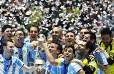 Argentina vô địch Futsal World Cup sau trận chung kết nghẹt thở