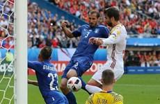 """Vòng loại World Cup: Đội tuyển Italy """"đại chiến"""" Tây Ban Nha"""