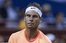 Nadal tính nghỉ thi đấu sau khi nhận cú sốc tại Thượng Hải