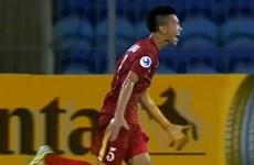 Cận cảnh siêu phẩm của Đoàn Văn Hậu vào lưới U19 Triều Tiên