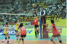 Hạ đội trẻ Trung Quốc, tuyển bóng chuyền nữ Việt Nam vào chung kết