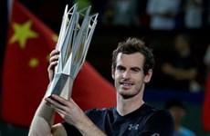 Andy Murray lần thứ ba giành chức vô địch Thượng Hải Masters