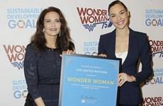 """Liên hợp quốc lựa chọn """"Nữ siêu nhân"""" làm Đại sứ danh dự"""