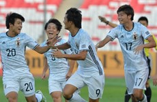 Vùi dập Tajikistan, U19 Nhật Bản đối đầu U19 Việt Nam ở bán kết