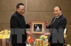 Thủ tướng Nguyễn Xuân Phúc tiếp nhân sỹ và doanh nghiệp Thái Lan