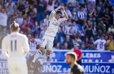 Ronaldo lập hat-trick, Real Madrid độc chiếm ngôi đầu La Liga