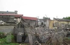 [Photo] Hiện trường vụ nổ lò hơi thảm khốc ở Thái Bình