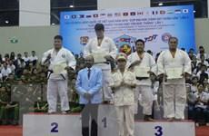 Hàn Quốc nhất toàn đoàn giải vô địch Judo quốc tế Việt Nam 2016