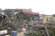 Thái Bình: Xác định nguyên nhân vụ nổ lò hơi ở xưởng chế biến hải sản