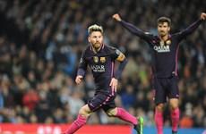 Lionel Messi thiết lập kỷ lục mớitrong ngày Barcelona bại trận