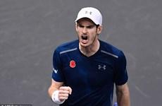 Djokovic thua sốc, Murray cách ngôi số 1 đúng một chiến thắng