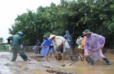 Đắk Lắk khắc phục hậu quả lũ lụt, giúp người dân ổn định đời sống