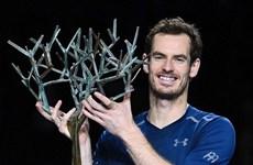 Andy Murray chào đón ngôi số 1 bằng chức vô địch Paris Masters