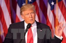 Tổng thống đắc cử Mỹ Donald Trump nêu 3 ưu tiên chính sách