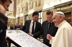 """Tuyển Đức diện kiến Giáo hoàng trước thềm """"đại chiến"""" với Italy"""