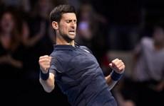 ATP World Tour Finals: Djokovic ngược dòng giành chiến thắng