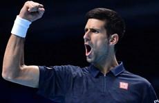 Djokovic sớm giành vé vào bán kết ATP World Tour Finals