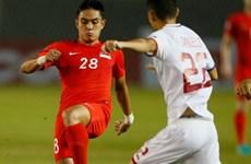 """Philippines """"bất lực"""" trước Singapore dù thi đấu hơn người"""