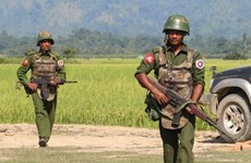 Hơn 600 tay súng sắc tộc đồng loạt tấn công vùng biên giới Myanmar