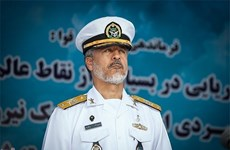 Iran bắt đầu xây dựng ba căn cứ hải quân và 2 vùng hải quân
