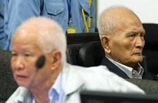 Giữ nguyên mức án tù chung thân đối với 2 cựu thủ lĩnh Khmer Đỏ