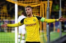 """Reus lập hat-trick, Dortmund ngược dòng thắng trận """"siêu kỷ lục"""""""
