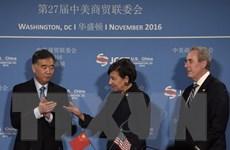 Mỹ và Trung Quốc mong muốn đẩy mạnh hợp tác thương mại